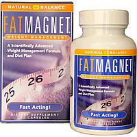 Natural Balance, Добавка для похудения и управления весом «Жир-Магнит», 72 капсулы