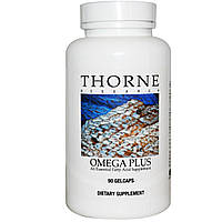 Thorne Research, Омега-плюс, 90 гелевых капсул