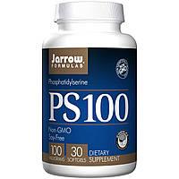 Jarrow Formulas, Фосфатидилсерин 100, 100 мг, 30 капсул