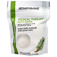 Aromatherapaes, Fizzical Time Bath Bombs, Neroli, 4 Effervescent Bath Bombs, .8 oz (229) ea