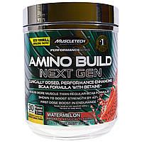 Muscletech, Amino Build Next Gen Energized, со вкусом арбуза, 276 г (9,74 унции)