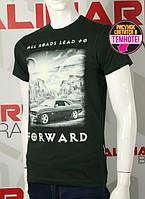 Valimark cтильная мужская футболка светится в темноте all roads lead forward код 17286