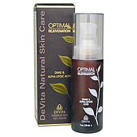 DeVita, Натуральное средство по уходу за кожей, для оптимального омолаживания, 1 унция (30 мл)