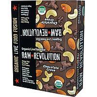 Raw Revolution, Органический батончик с шоколадом, 12 батончиков, 1,8 унций (51 г) каждый