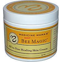 Medicine Mama's, Сладкая магия пчел, все в одном, крем для залечивания кожи, 4 унции