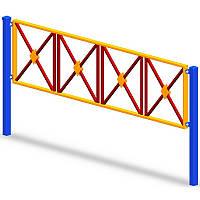 Двухметровая секция для площадок