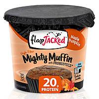 FlapJacked, Mighty Muffin (мощный кекс), с пробиотиками, кленовая тыква, 1,94 унции (55 г)