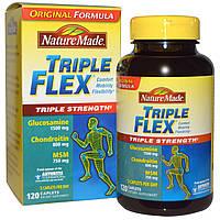 Nature Made, Тройная гибкость, тройная сила, 120 таблеток