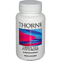 Thorne Research, Фитосомы зеленого чая, 60 капсул на растительной основе