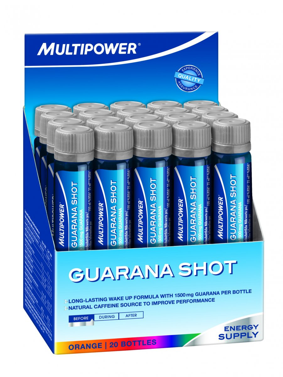 Multipower Guarana Shot 20x25мл
