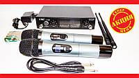 Радиосистема UKC DM U-5000 UHF база 2 радиомикрофона, фото 1