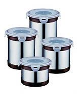 Набор банок для сыпучих продуктов Peterhof PH-12417 (4 предмета)