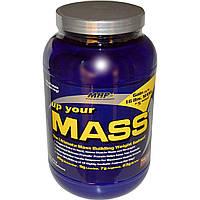Maximum Human Performance, LLC, Up Your Mass, Нараститель веса , со вкусом брауни, 2 фунта (931 гр),купить
