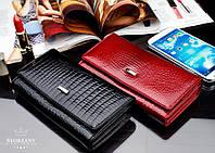 Жіночий гаманець шкіра LOREN Польща, фото 1
