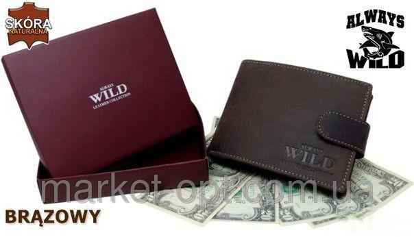 efd7b3b3d184 Кошелек мужской брендовый Always Wild 3 цвета - Интернет-магазин