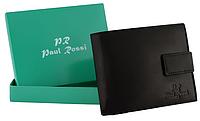Мужской бумажник Paul Rossi натуральная кожа Польша