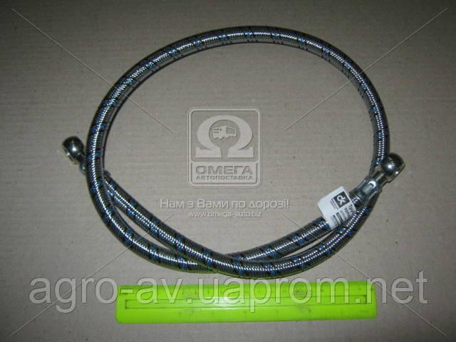 Трубка топливная ЗИЛ 5301 (240-1104160-01-10) в мет. оплетке со штуц. (длин.)