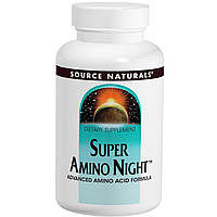 Source Naturals, Super Amino Night, 240 таблеток