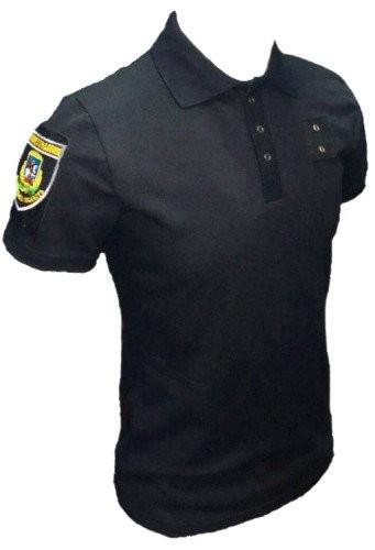 Футболка Поло Police черное