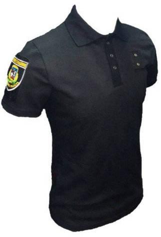 Футболка Поло Police черное, фото 2