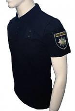 Футболка Поло Police черное, фото 3