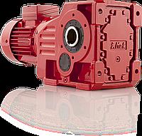 Коническо-цилиндрические мотор-редуктор