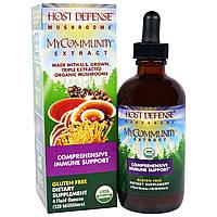 """Fungi Perfecti, """"МоеСообщество для защиты организма"""" из серии """"Грибы для защиты организма"""", органический грибной экстракт для комплексного поддержания"""