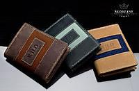 Кожаный портмоне мужской Always Wild Польша 3 цвета