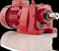 Соосно-цилиндрические мотор-редуктор
