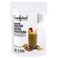 Sunfood, Порошок Сача Инчи с высоким содержанием белка, 227 г