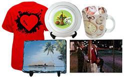 Изготовление эксклюзивных подарков и рекламно-сувенирной продукции (печать на чашках, футболках и т.д)