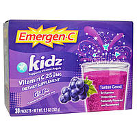 Emergen-C, Kids, Grape, 30 Packets, (9.4 g) Each