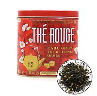 Органический китайский красный чай с бергамотом, 100г Terre d'oc
