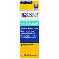 Neosporin, Eczema Essentials, гидрокортизоновый крем против зуда, 1 унция (28 г)