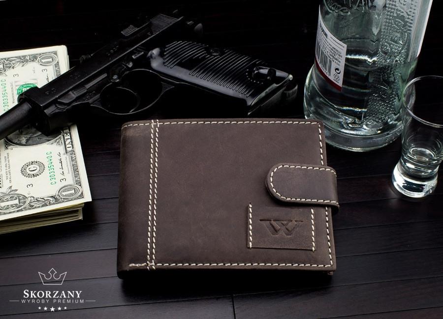 Чоловічий ШКІРЯНИЙ гаманець Always Wild Active