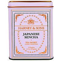 Harney & Sons, Японский Чай Сенча в Пакетиках, 20 штук, по 1,4 унции (40 г)