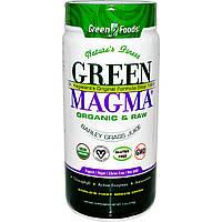 Green Foods Corporation, «Зеленая магма», сок ячменя, 5,3 унций (150 г)
