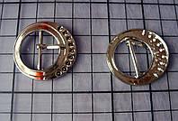 Пряжка металлическая, стальная, 31х33 мм.