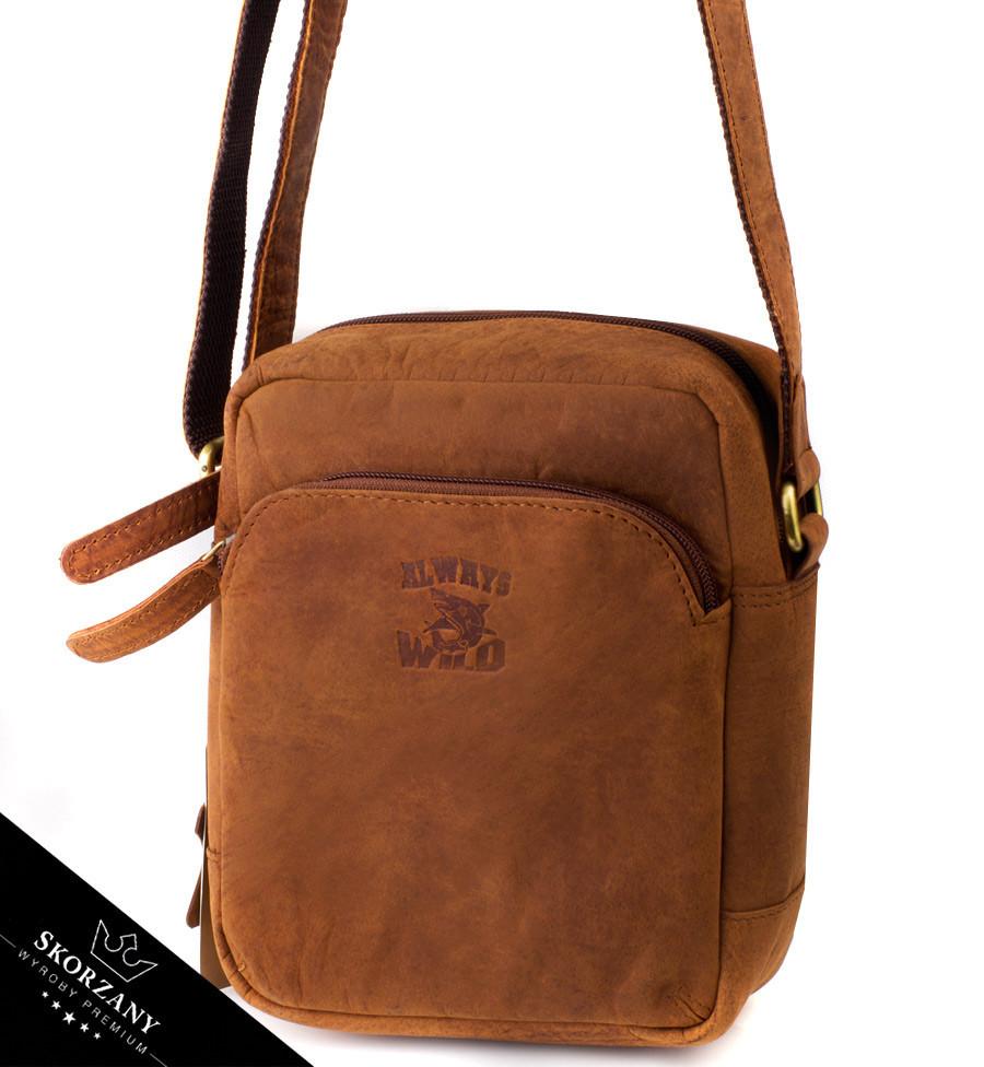 2aeeab1feb6c Мужская сумка Always Wild натуральная кожа Польша: продажа, цена в ...