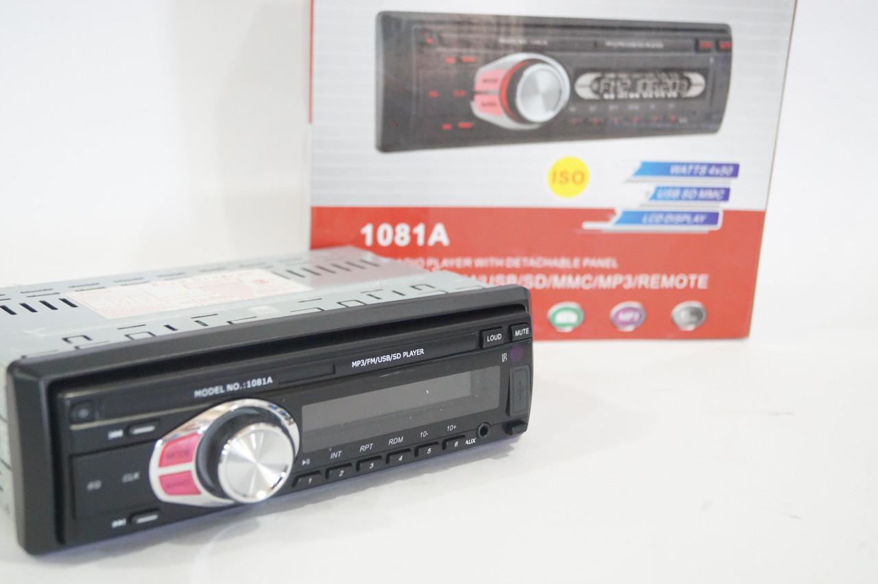 USB/SD MP3 проигрыватель Pioneer DEN-1081 1Din автомагнитола