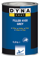 Грунт-наполнитель Filler 4100 BLACK/GREY/WHITE DynacoatDynacoat GREY 0,8л