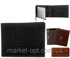 Мужской кожаный кошелек  ALWAYS WILD 2 цвета