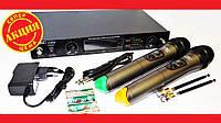 Радиосистема UKC DM U-4000 UHF база 2 радиомикрофона, фото 1