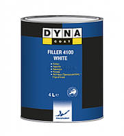Грунт-наполнитель Filler 4100 BLACK/GREY/WHITE DynacoatDynacoat WHITE 4л