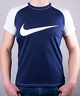 "Стильная мужская футболка-реглан ""NIKE"" от производителя"