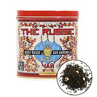 Органический чёрный чай с цитрусом,100г Terre d'oc