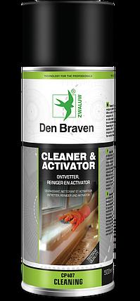 Обезжириватель - активирует Cleaner & Activator 500мл Den Braven в (аэрозоли), фото 2