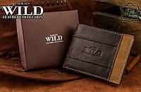 Мужской кожаный кошелек от Always Wild