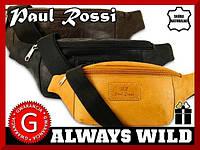 Барсетка на пояс бренд Poul Rossi Польша