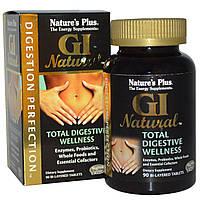 Nature's Plus, Идеальное пищеварение, GI Natural, 90 двухслойных таблеток